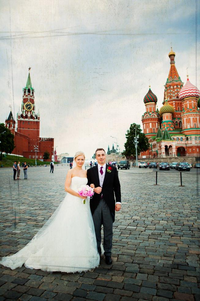 Фотосессия свадебная на красной площади